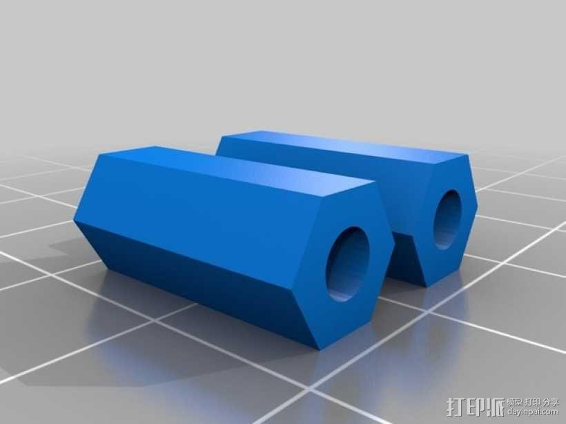 风扇散热导管 3D模型  图9