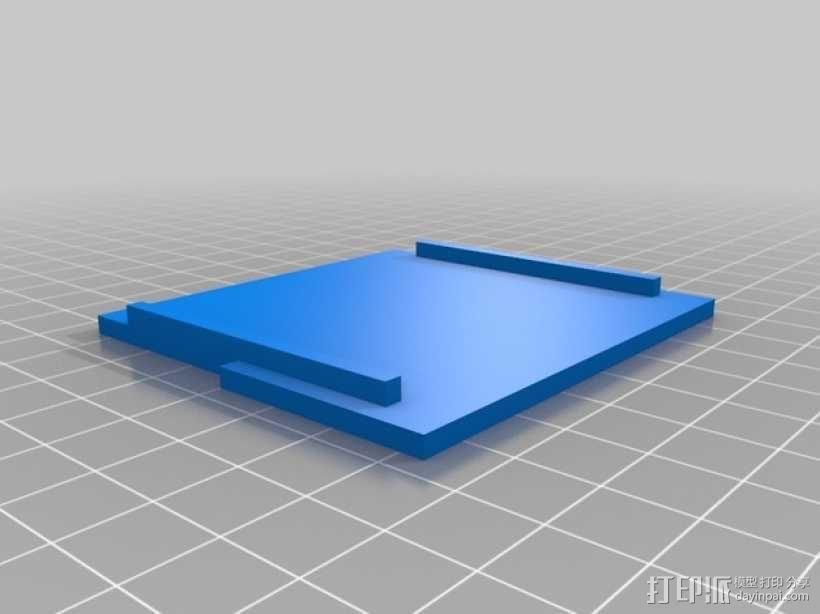 RAMPS 1.4打印机控制板外壳 3D模型  图2