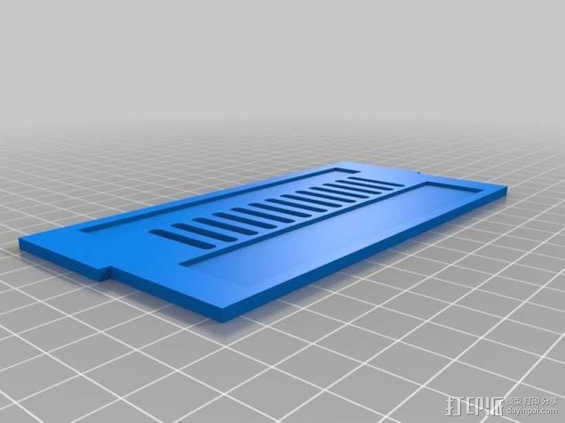 RAMPS 1.4打印机控制板外壳 3D模型  图3