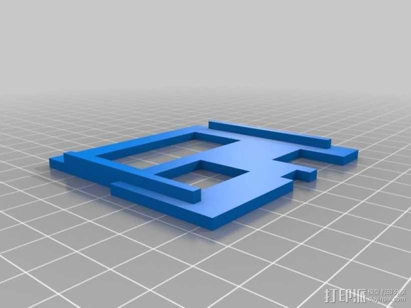 RAMPS 1.4打印机控制板外壳 3D模型  图4