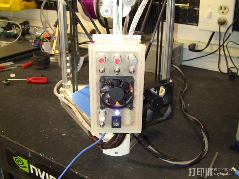 RAMPS 1.4打印机控制板外壳 3D模型  图10