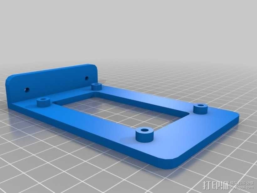 RAMPS 1.4控制板支架 3D模型  图2