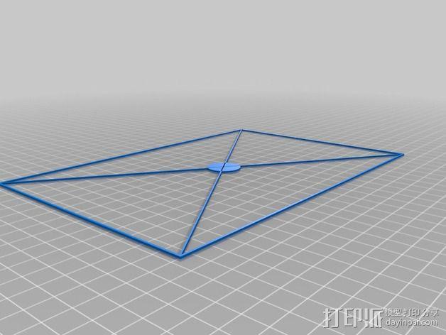 调平器 3D模型  图2