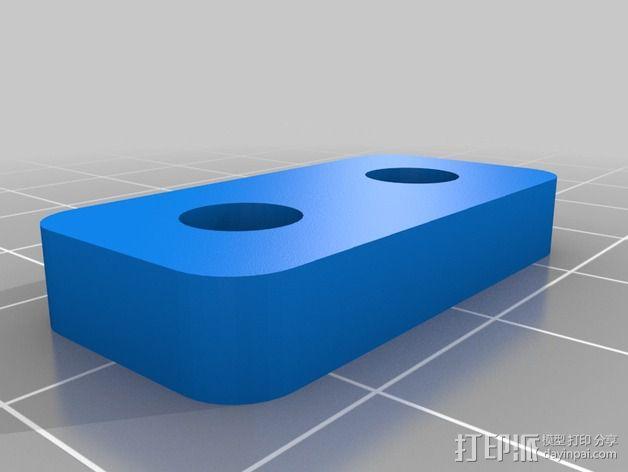 线轴卷 线轴卷线器 线轴支架 3D模型  图3
