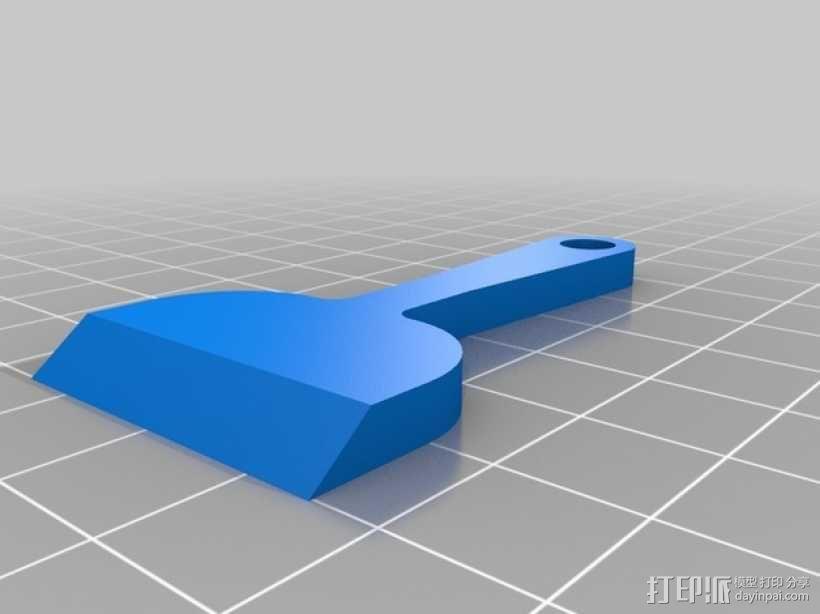3D打印刮刀 3D模型  图3