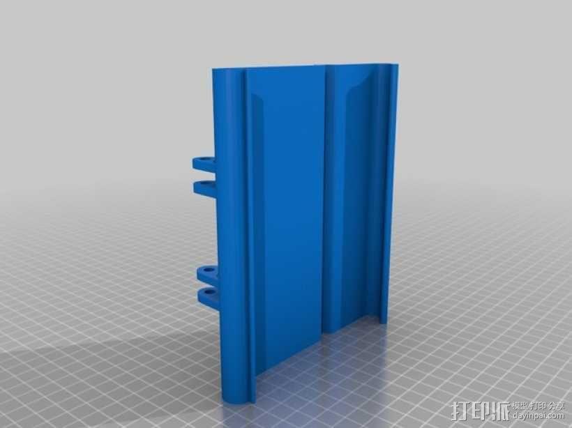 平板/液晶显示屏支架 3D模型  图2