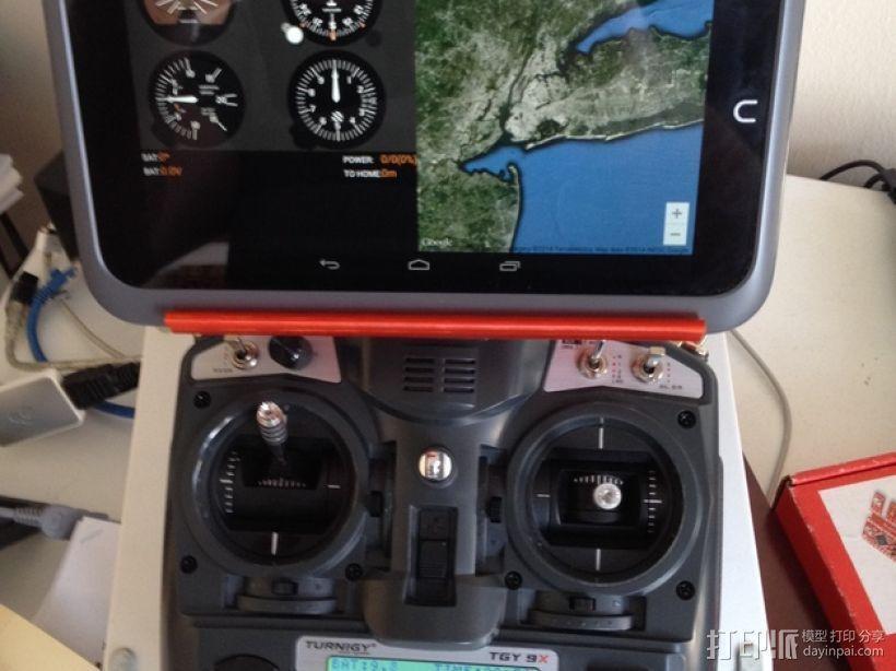 平板/液晶显示屏支架 3D模型  图1