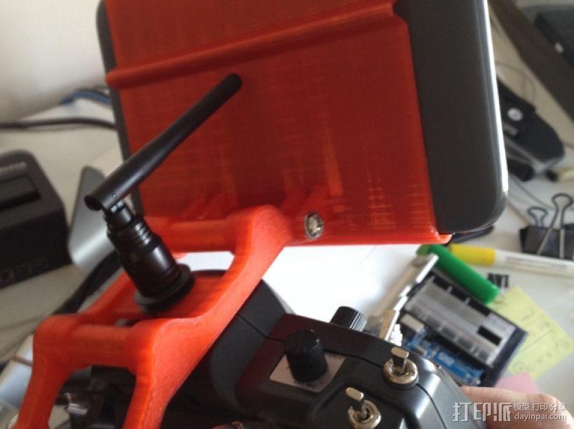 平板/液晶显示屏支架 3D模型  图3
