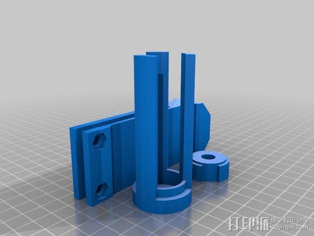 线轴支架 3D模型  图9