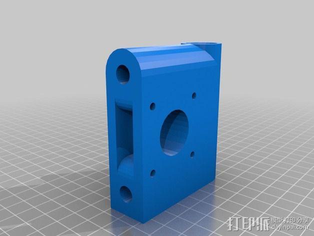 OneUp/ TwoUp框架 零部件 3D模型  图3