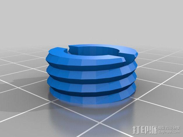 OneUp/ TwoUp框架 零部件 3D模型  图7