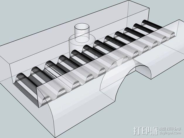 OneUp/ TwoUp框架 零部件 3D模型  图14