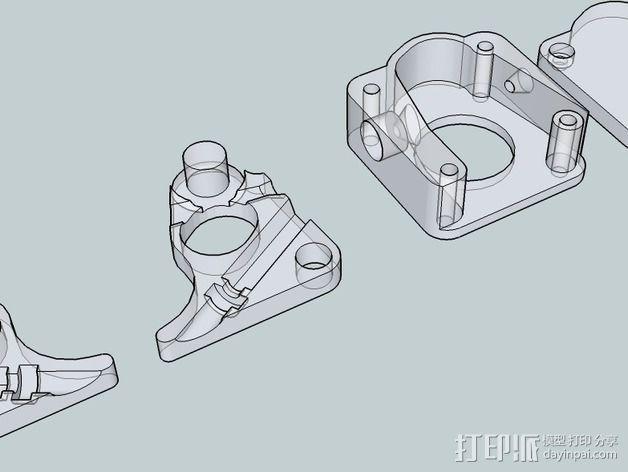 OneUp/ TwoUp框架 零部件 3D模型  图21