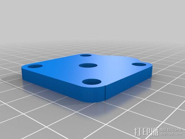 OneUp/ TwoUp框架 零部件 3D模型  图25