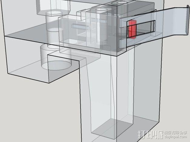 OneUp/ TwoUp框架 零部件 3D模型  图32