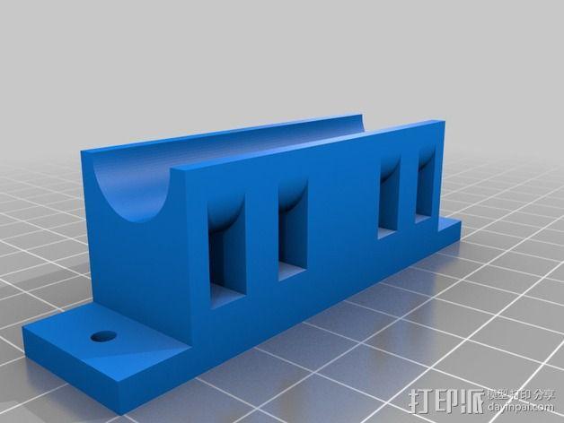 Printrbot Simple打印机部件 3D模型  图2