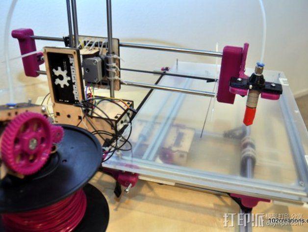 Printrbot Simple打印机部件 3D模型  图1