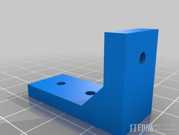Printrbot Simple打印机部件 3D模型  图8
