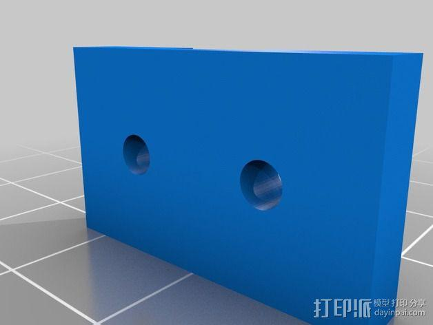 Printrbot Simple打印机部件 3D模型  图9