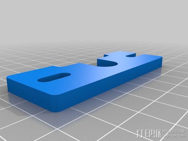 挤出机散热装置 3D模型  图2