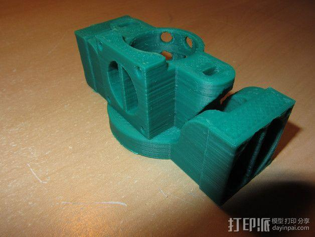 挤出机散热装置 3D模型  图5