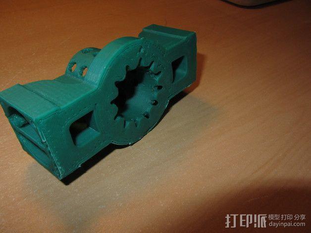 挤出机散热装置 3D模型  图6
