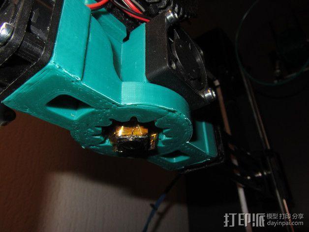 挤出机散热装置 3D模型  图9