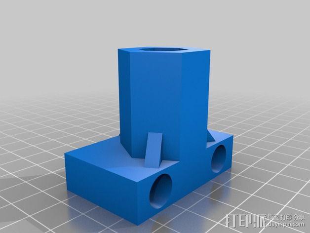 Z轴齿隙消除装置 3D模型  图2