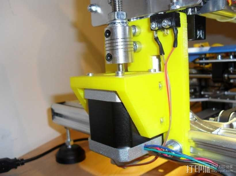 K8200打印机部件 3D模型  图1