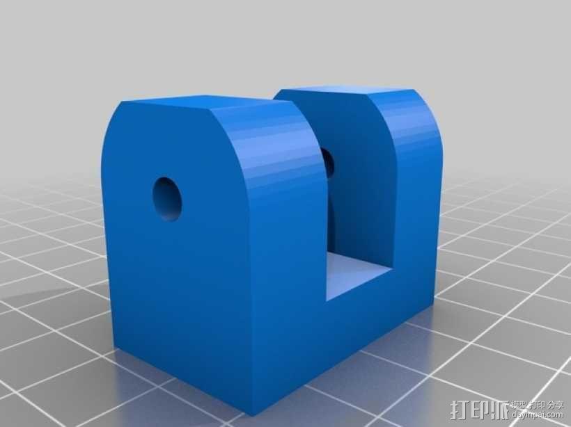 K8200打印机部件 3D模型  图4