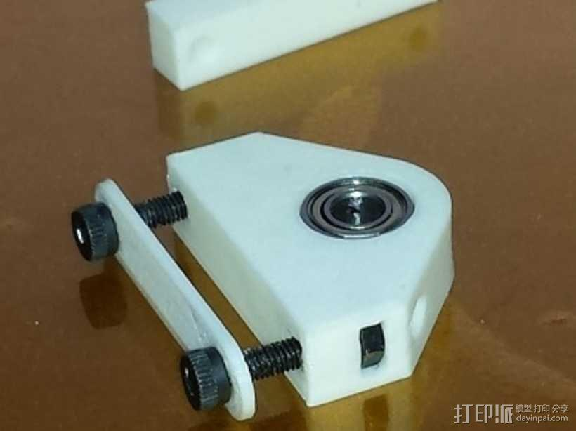 Y轴拍杆支架 3D模型  图1