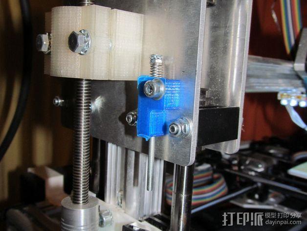 螺杆固定器 3D模型  图1