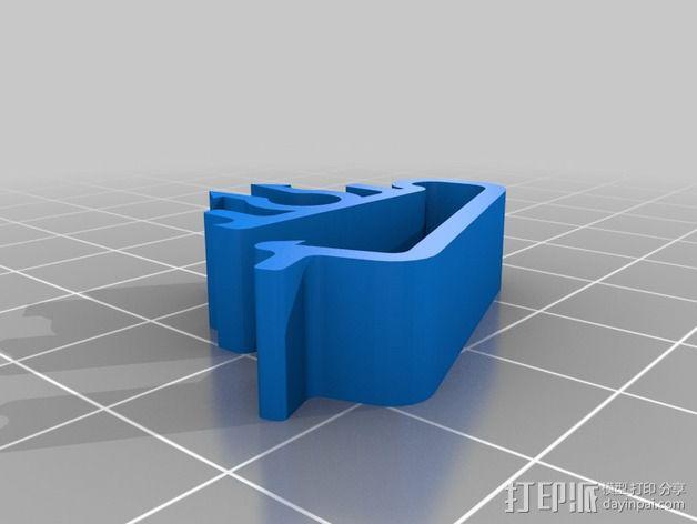 线夹 线材夹 3D模型  图2