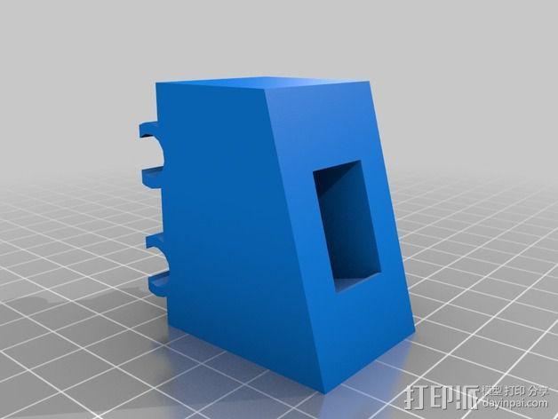 开关支架 3D模型  图1