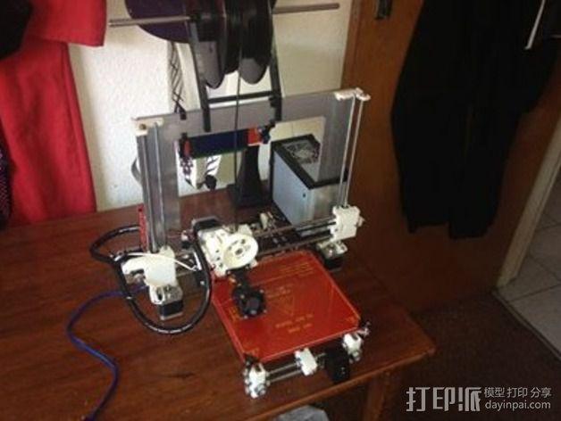 开关支架 3D模型  图3