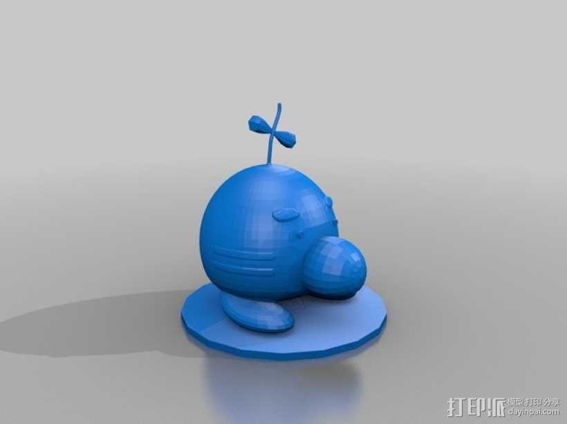 Mr. Saturn土星先生 3D模型  图2