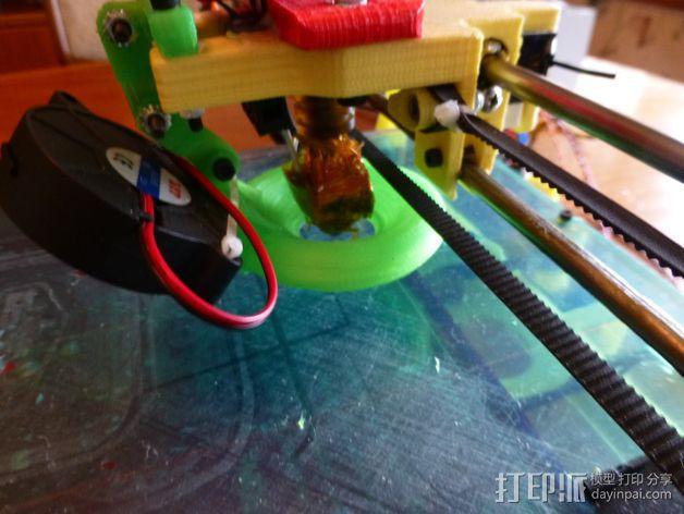 冷却导管 3D模型  图1