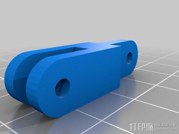 冷却导管 3D模型  图4