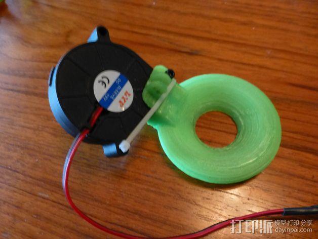 冷却导管 3D模型  图8
