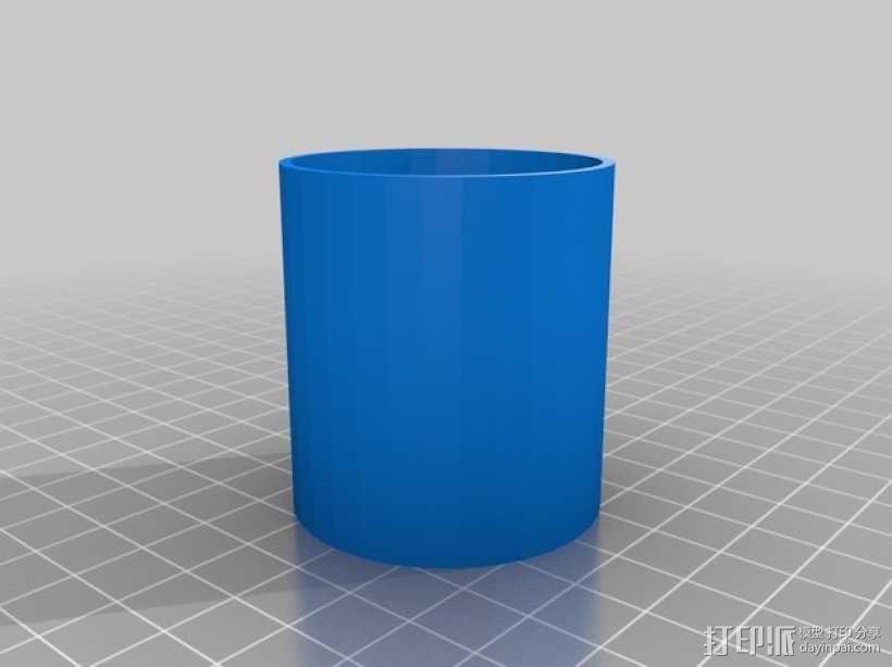打印机防震脚 3D模型  图2