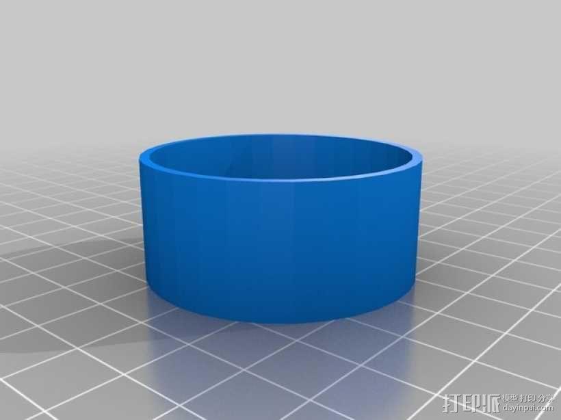 打印机防震脚 3D模型  图4
