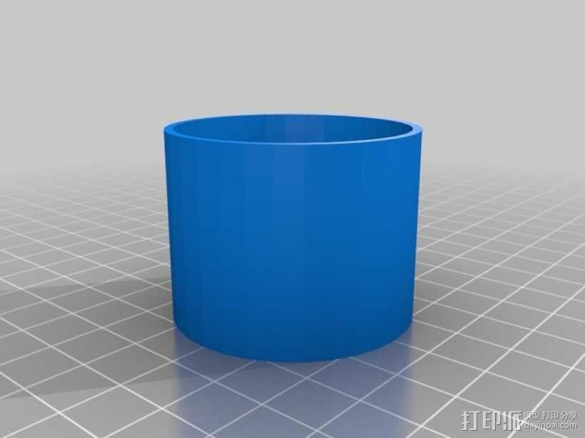 打印机防震脚 3D模型  图3