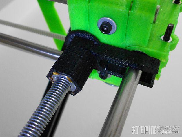 打印机防震器 3D模型  图1
