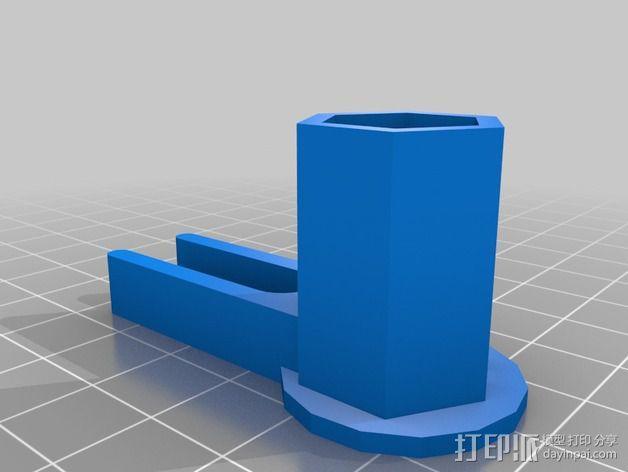 打印机防震器 3D模型  图2