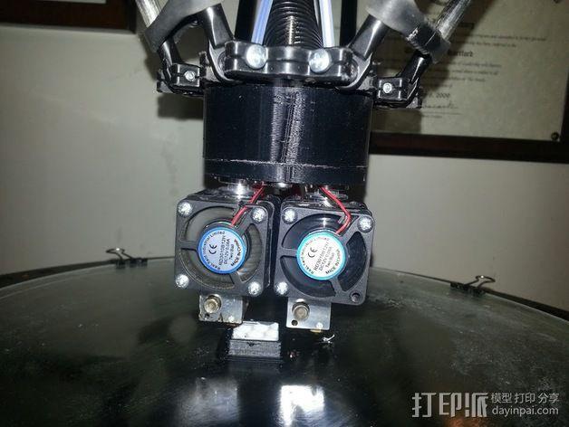 打印机喷嘴适配器 3D模型  图3