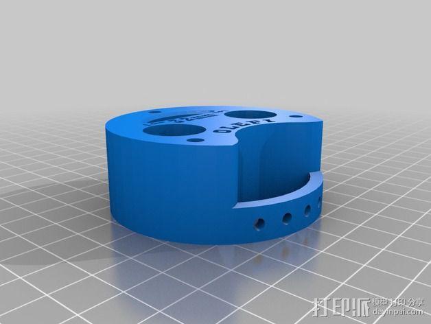 打印机喷嘴适配器 3D模型  图5