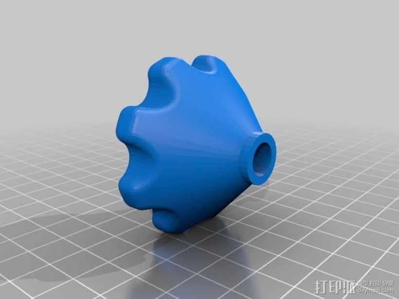 线圈座 卷料闸 3D模型  图6