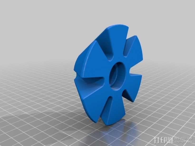 线圈座 卷料闸 3D模型  图7