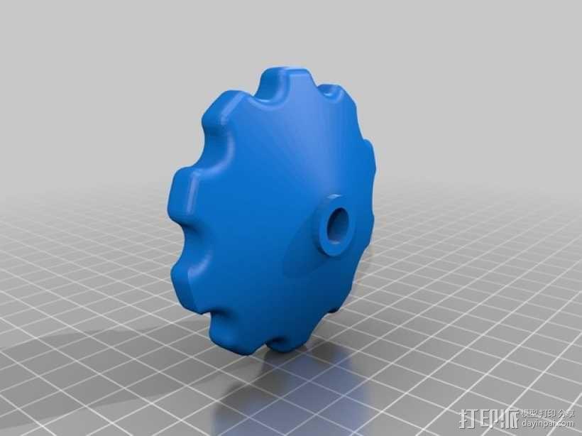 线圈座 卷料闸 3D模型  图8
