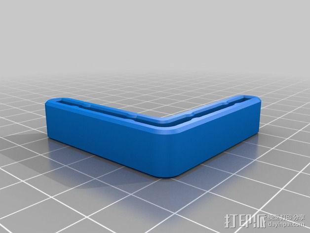 打印机角托  稳定器  3D模型  图3